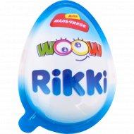 Кондитерское изделие «Rikki» с игрушкой для мальчиков, 20 г.