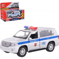 Машина «Toyota Land Cruiser» полиция.