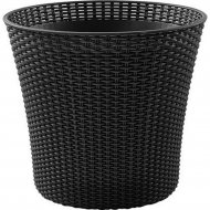 Кашпо «Keter Group» коричневое Conic Planter -BRW590-EE-STD Cu