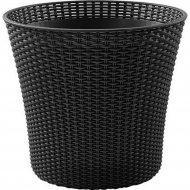 Кашпо «Keter Group» коричневое Conic Planter -BRW590-EE-STD Cu