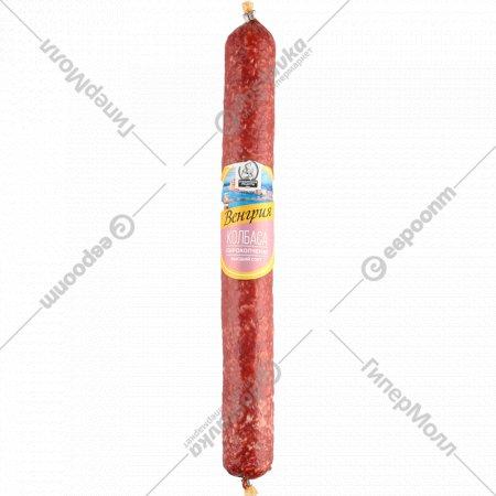 Колбаса из мяса птицы «Венгрия» сырокопченая, 1 кг., фасовка 0.23-0.27 кг