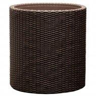 Кашпо «Keter Group» напольное Cylinder Planter S, коричневый