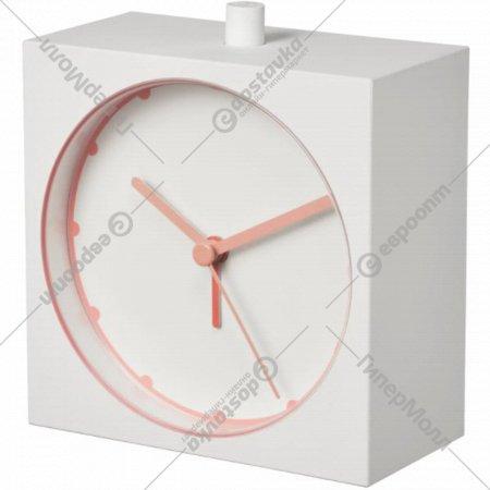Будильник «Байк» белый, 5x11 см