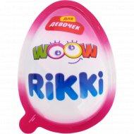 Кондитерское изделие «Rikki» с игрушкой для девочек, 20 г.