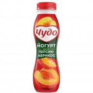 Йогурт фруктовый «Чудо» персик-абрикос, 2.4%, 270 г