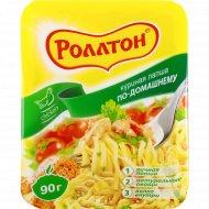 Лапша быстрого приготовления «Роллтон» , куриная, по-домашнему, 90 г.