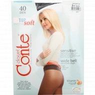 Колготки женские «Conte» Top Soft, 40 den, размер 2, Nero