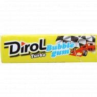 Жевательная резинка «Dirol» со вкусом мяты и фруктов, 13.6 г.