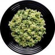 Картофельное пюре со шпинатом, замороженное, 200 г.