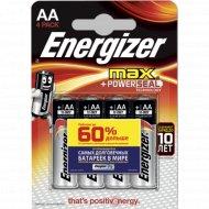 Батарейки «Energizer» Е91АА.