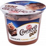 Десерт молочно-шоколадный «Zott Cremore Duo» 6.7%, 190 г