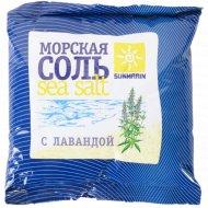 Соль косметическая «Sunmarin» морская с лавандой, 1 кг.