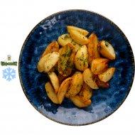 Картофельные дольки, запеченные, замароженные, 200 г.