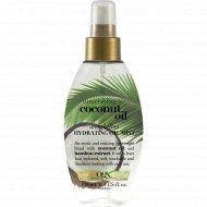 Масло-спрей «OGX» легкое увлажняющее с кокосовым маслом, 118 мл.