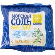 Соль косметическая «Sunmarin» морская с чередой, 1 кг.