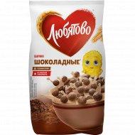 Готовые завтраки «Любятово» шоколадные шарики, 200 г.