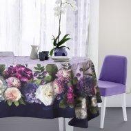 Скатерть «Этель» цветочный этюд, 110х150 см