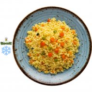 Кус-кус с овощами, готовый, замороженный, 200 г.
