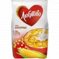 Хлопья кукурузные «Любятово» 160 г.