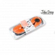 Лосось стейк «John Dory» охлажденный, 1 кг., фасовка 0.5-0.52 кг