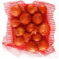 Лук репчатый свежий фасованный, 1 кг., фасовка 2.2-2.4 кг
