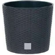 Горшок «Prosperplast» пластиковый Flower pot Rato square – Anthracite
