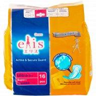 Прокладки гигиенические «Elis Active secure» 16 штук.