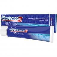 Зубная паста «Blend-a-med» 3D White, свежесть, мятный поцелуй, 100 мл.