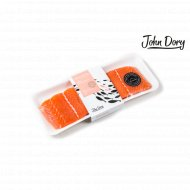 Лосось филе-кусок на коже «John Dory» 1 кг., фасовка 0.5-0.65 кг