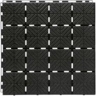 Плитка садовая «Easy Square» черный