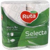 Бумага туалетная «Ruta» Selecta, 4 рулона.