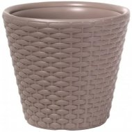 Горшок «Prosperplast» пластиковый Flower pot Rato - Mocca