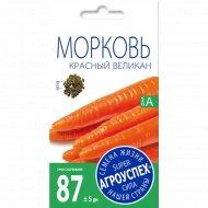 Морковь «Красный великан» 2 г.