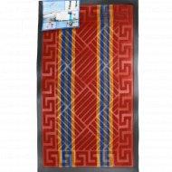 Коврик придверный «Lux Multicolor» 45x75 см, бордовый.