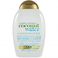 Кондиционер «OGX» с кокосовой водой Невесомое увлажнение, 385 мл.