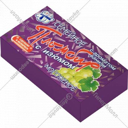 Мороженое «Семейное» пломбир, ваниль, изюм, 230 г.