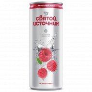 Напиток «Святой Источник» газированный, со вкусом малины, 0.33 л.