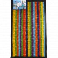 Коврик придверный «Lux Multicolor» 45x75 см, радуга.