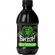 Напиток газированный энергетический «Bizon» лайм-айс, 375 мл