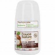 Дезодорант шариковый органический «Douce Nature» с маслом ши, 50 мл.