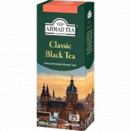 Чай чёрный «Ahmat Tea» классичекий, 25 пакетиков.