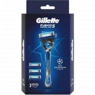 Бритвенный станок «Gillette» Fusion5 ProGlide с 3 сменными кассетами