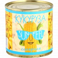 Консервы натуральные «Кукуруза» сахарная в зернах, 425 мл.