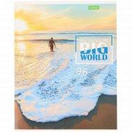 Тетрадь «Этот большой мир» А5, 96 листов.