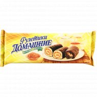 Мини-рулеты «Домашние» с вареной сгущенкой, 150 г.