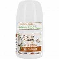 Дезодорант шариковый органический «Douce Nature» кокос, 50 мл.