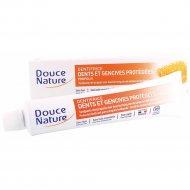 Зубная паста органическая «Douce Nature» с прополисом, 75 мл.