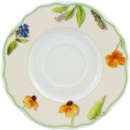 Блюдце «Cmielow I Chodziez» Gloria, K232-0G10490, полевые цветы, 15 см