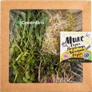 Микрозелень «GreenBro» микс, 160 г