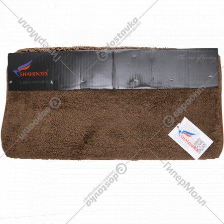 Коврик «Lama» 60x120 см, шоколадный.